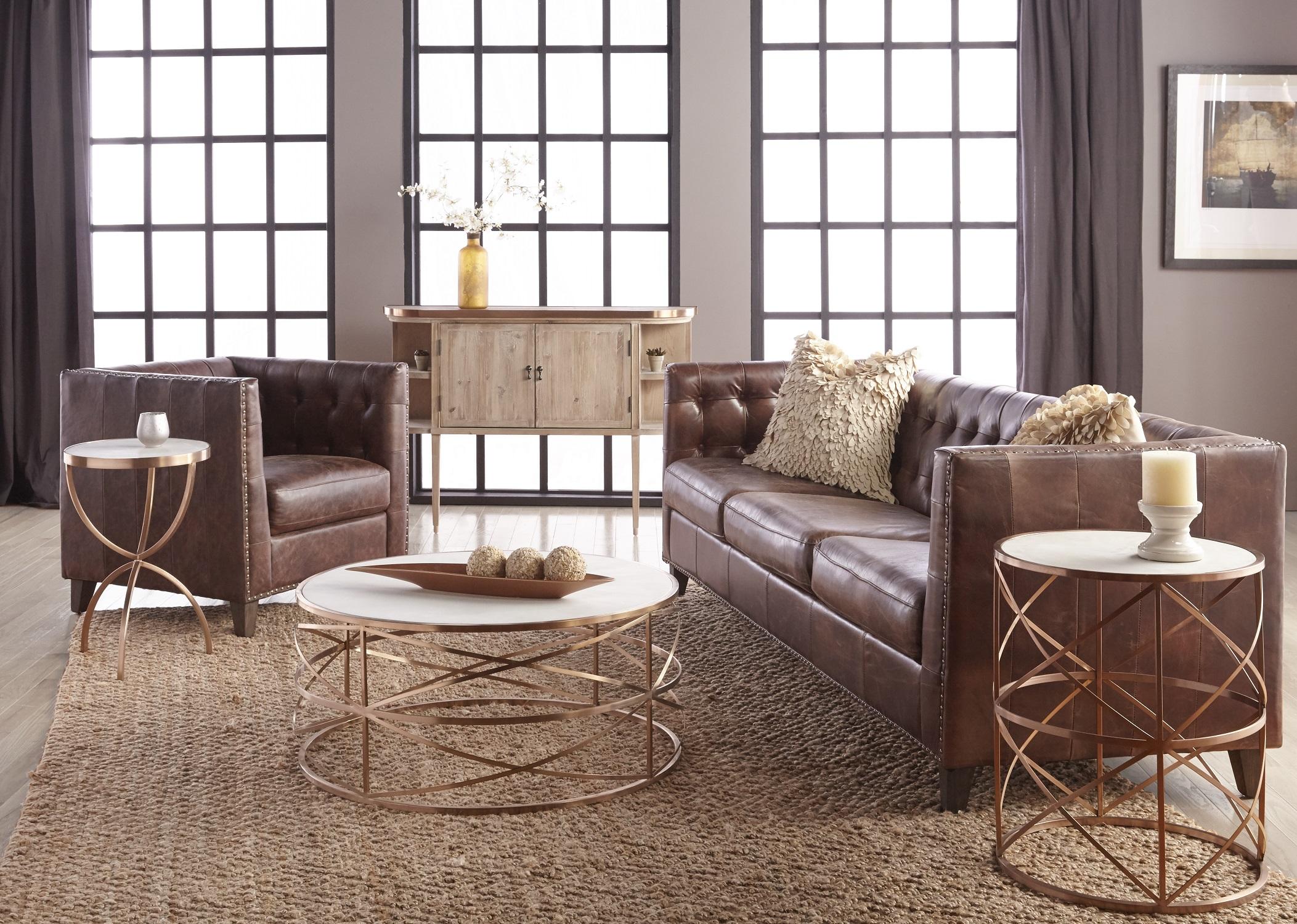 Melrose Round Coffee Table Arte Fina Furniture