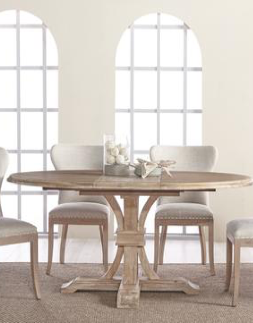 DEVON ROUND EXTENSION DINING TABLE 5